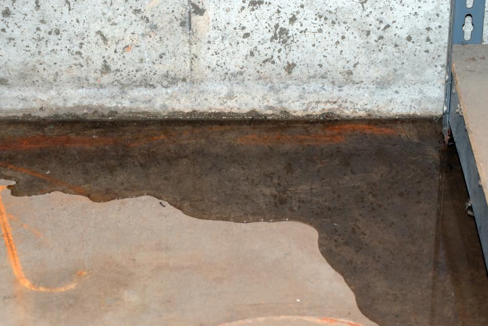 flaque condensation cave sous sol maison liège belgique
