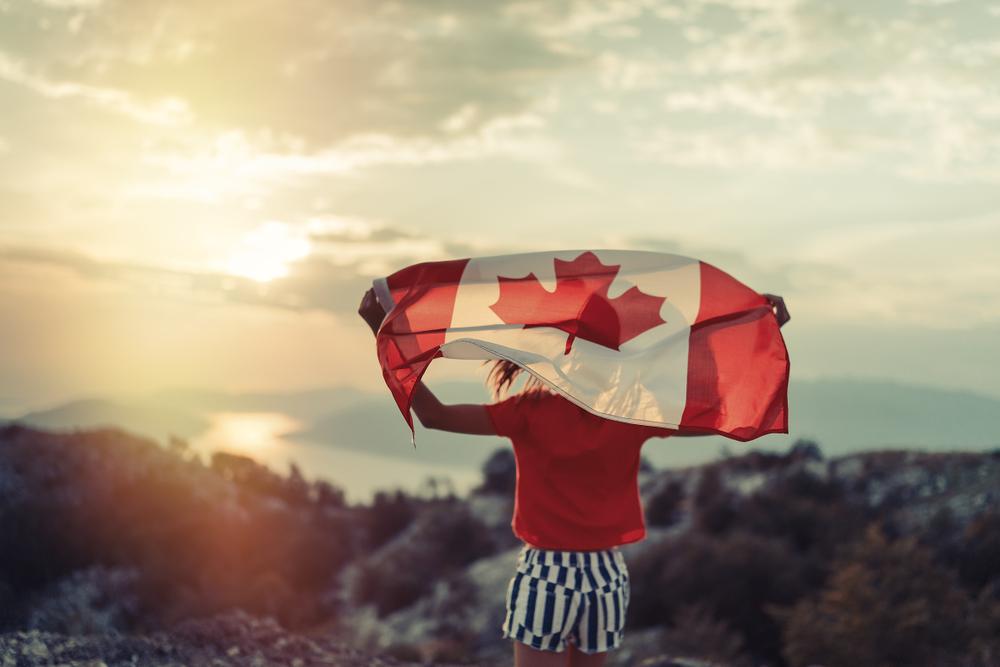 Ottawa Ontario Canada drapeau