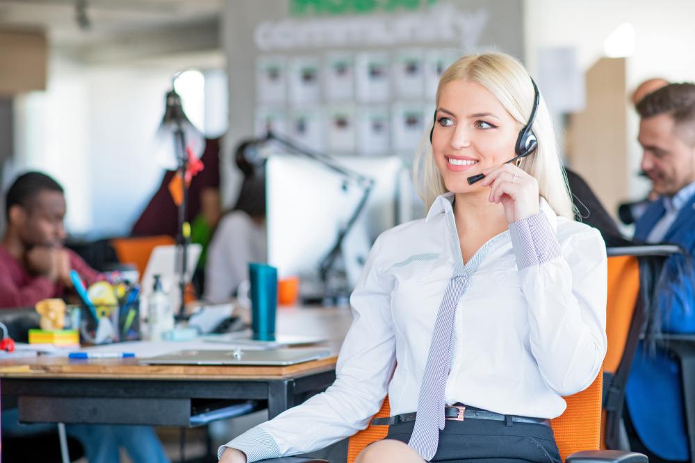 call center appel entrant