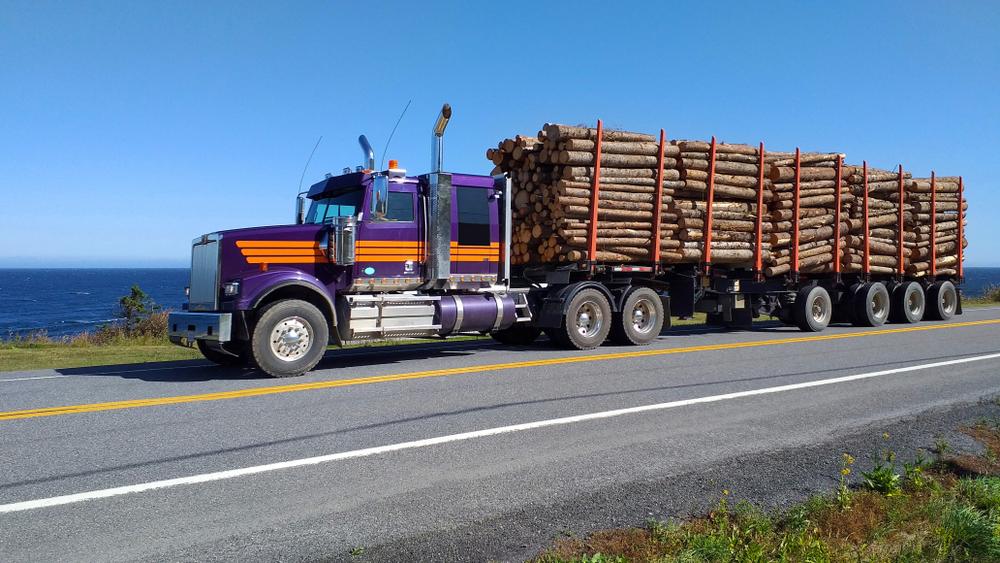 semi remorque américain camion