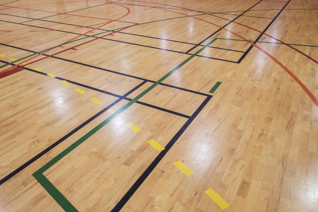 complexe hall multisport sportif