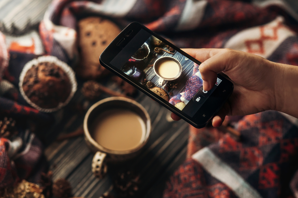 photographie ionstagram smartphone gsm