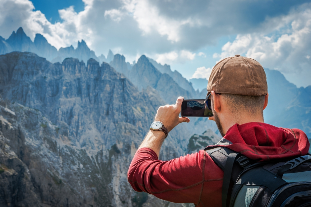 photo montagne ihpone samsung huawei