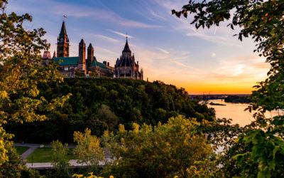 Voyager au Canada en passant par sa capitale, Ottawa