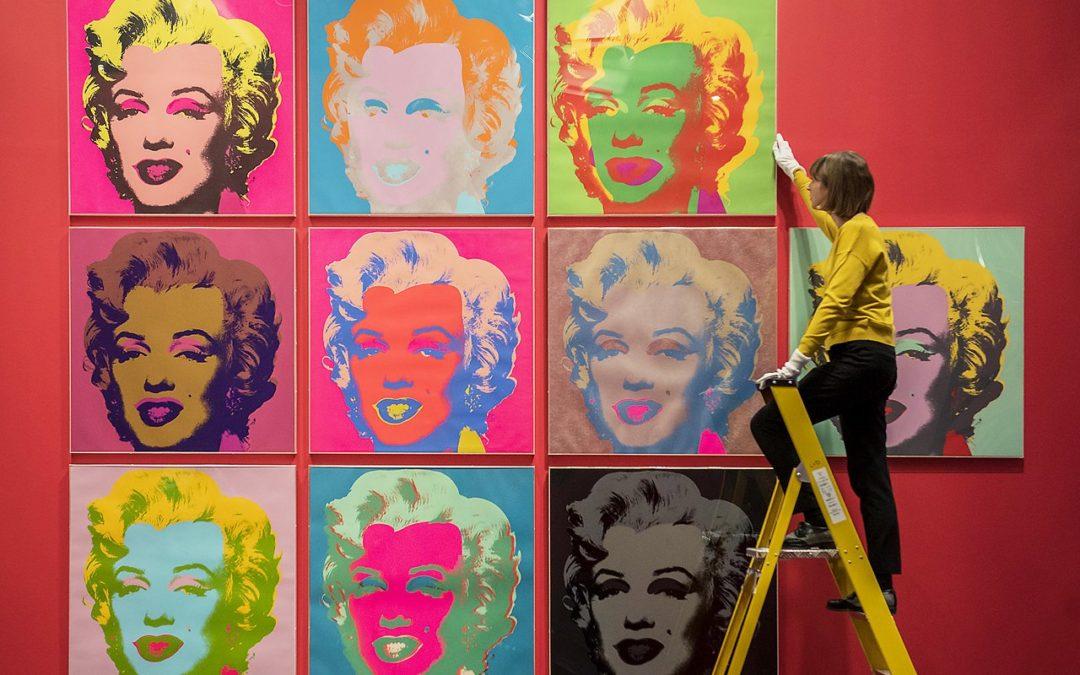 Toile pop art, une idée cadeau originale
